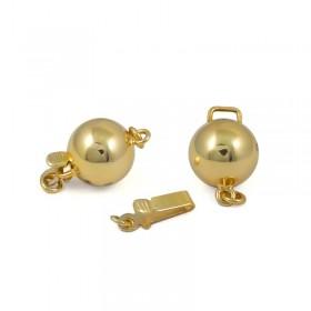Замок для колье из золота 375 пробы, 7 мм