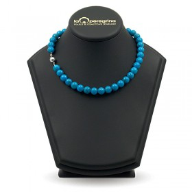 Natural turquoise necklace 9.0 - 10.0 mm
