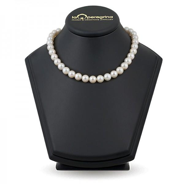 Ожерелье из крупного белого жемчуга южных морей АА+ 10,0 - 11,0 мм