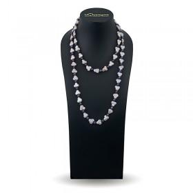 Ожерелье из барочного жемчуга мультиколор