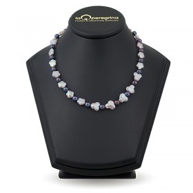 Multicolor Baroque Pearl Necklace