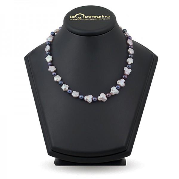 Multicolor Baroque Pearl Necklace