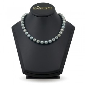 Necklace of sea Tahitian pearls 9.0 - 10.0 mm