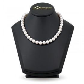 Ожерелье из натурального морского жемчуга Акойя 9,0 - 9,5 мм