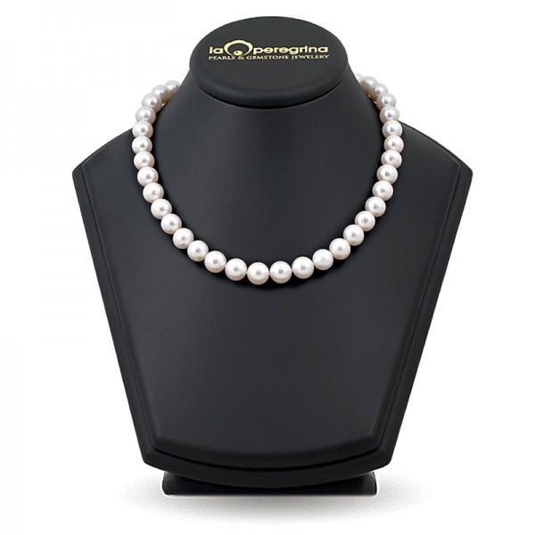 Akoya Natural Sea Pearl Necklace 9.0 - 9.5 mm