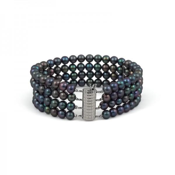 Four Strand Freshwater Pearl Bracelet