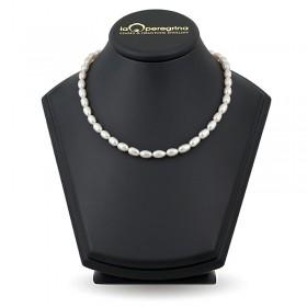 Ожерелье из натурального жемчуга 6,5 - 7,0 мм