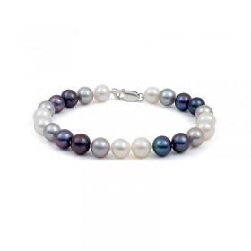 Multicolor Natural Pearl Bracelet