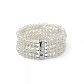 Five Strand Freshwater Pearl Bracelet
