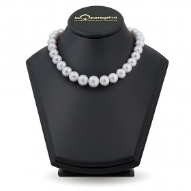 Pearl Wedding Necklace of 30 Large Pearls
