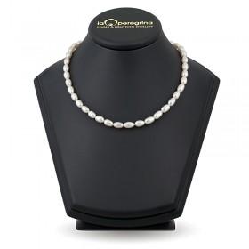 Ожерелье из жемчуга барокко белого цвета