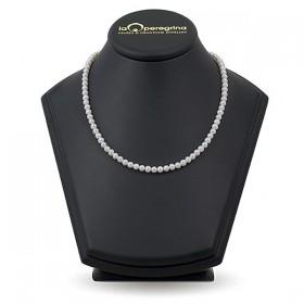 Ожерелье из белого морского жемчуга Акойя 5,0 - 5,5 мм