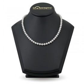 Ожерелье из натурального морского жемчуга Акойя 5,0 - 5,5 мм