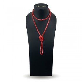Natural Coral Beads 120 cm