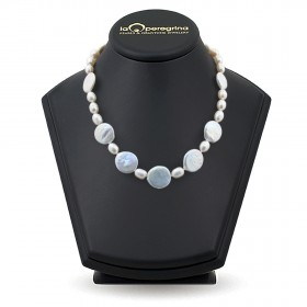Natural Baroque Pearl Necklace 12.0 - 13.5 mm