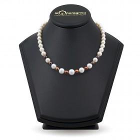 Ожерелье из пресноводного жемчуга мультиколор