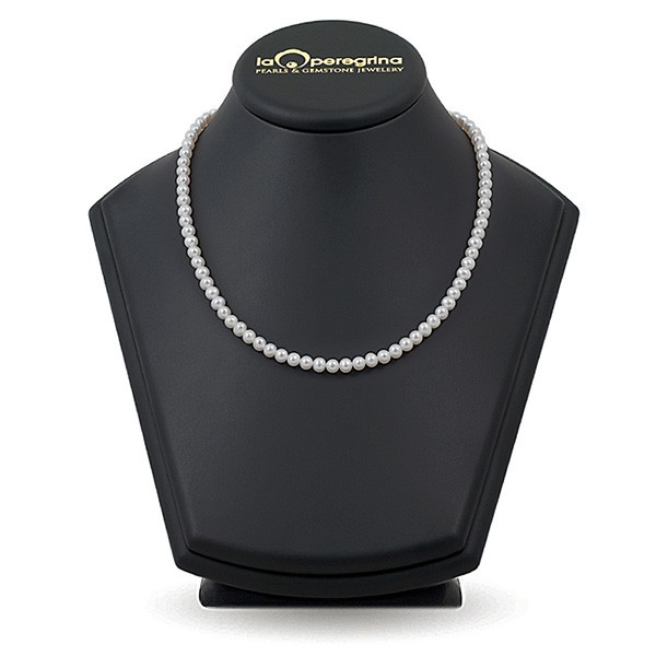 Necklace made of white sea pearls Akoya 5.0 - 5.5 mm