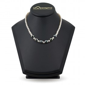 White natural pearl necklace A + 6.0 - 7.0 mm