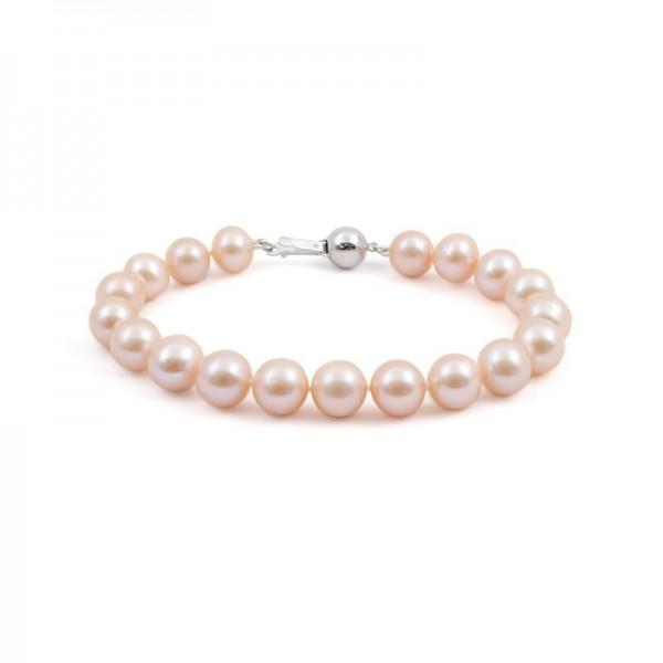 Pink Natural Pearl Bracelet
