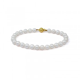 White Sea Akoya Pearl Bracelet