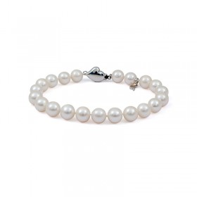 Natural white pearl bracelet