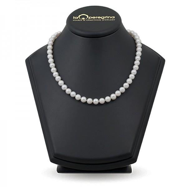 Natural pearl necklace AAA 8.0 - 8.5 mm