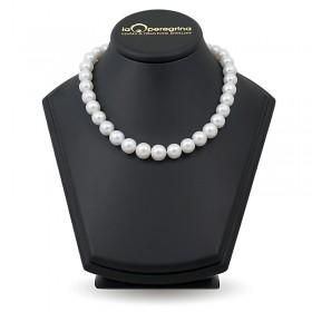 Ожерелье из белого пресноводного жемчуга АА+ крупного размера 11,0 - 12,0 мм