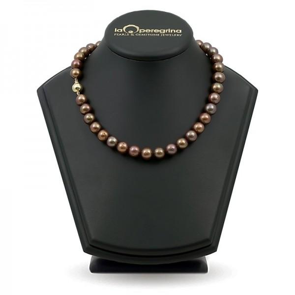 Ожерелье из натурального жемчуга ААА 10,0 - 10,5 мм