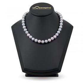 Ожерелье из натурального жемчуга цвета металлик 10,0 - 10,5 мм