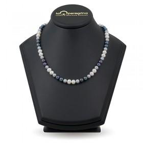 Ожерелье мультиколор из натурального жемчуга 8,0 - 8,5 мм