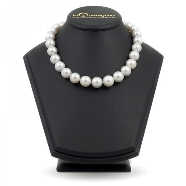 Ожерелье из крупного белого жемчуга южных морей АА+ 14,5 - 16,0 мм