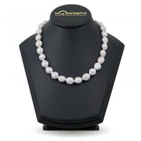"""Ожерелье из 30 натуральных жемчужин """"барокко"""" 12,5 - 13,5 мм"""
