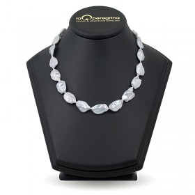 Natural Baroque pearl necklace 14.0 - 14.5 mm