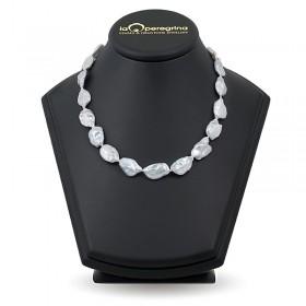 """Ожерелье из натурального жемчуга """"барокко"""" 14,0 - 14,5 мм"""