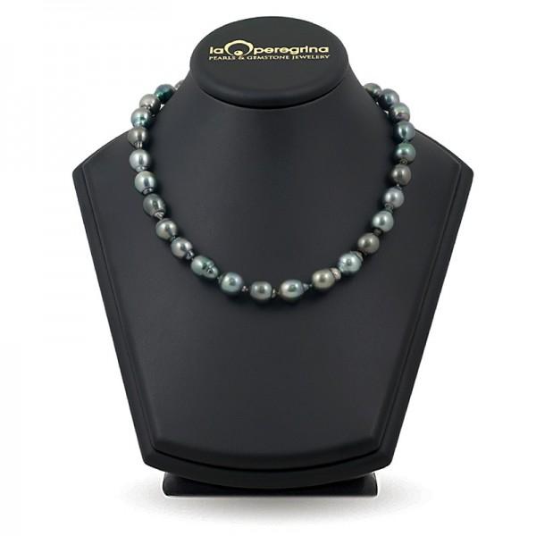Ожерелье из морского жемчуга Таити с замком Панда