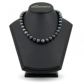 Ожерелье из морского таитянского жемчуга 13,0 - 15,0 мм с замком из золота 585 и бриллиантами