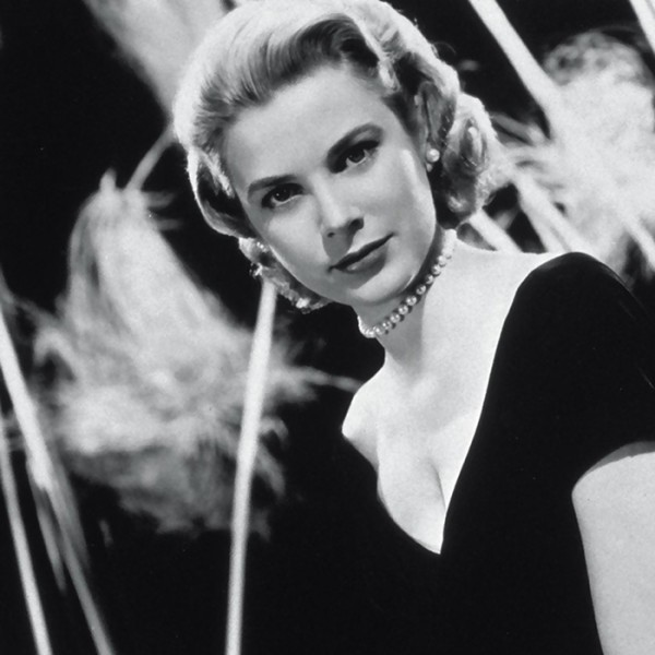 Famous pearl lovers. Grace Kelly.